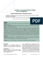 diabetes melitus juvenil