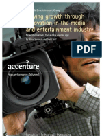 Driving Growth Through Innovation in the Media & Entertainment industry
