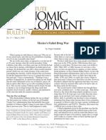 Mexico's Failed Drug War, Cato Economic Development Bulletin No. 13