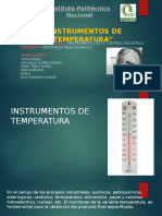 instrumentos de temperatuta
