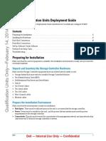 SC4020 Qual Units Deployement Guide