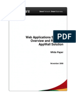 Web Applications Security Overview and AppWall Solution