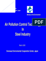 Air Pollution Control Technology in Steel Industry China 2005