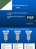 Sistema de Pensiones en Chile Segundo Semestre 2013 Pasado en Clases