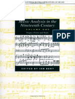Music Analysis in the 19th Cent
