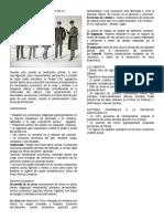 Ficha Técnica de Características de La República Aristocrática