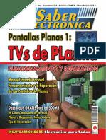 Club Saber Electrónica Nro. 42. Pantallas Planas 1. TVs de Plasma