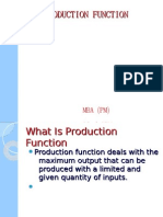 Production Function- Eco Ppt