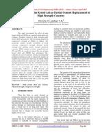 Investigación Sobre La Palma de Almendra Como Reemplazo Parcial Del Cemento Para Una Alta Resistencia Del Concreto