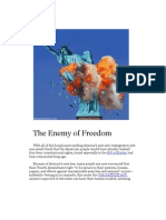 The Enemy of Freedom