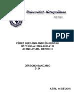 2124 Derecho Bancario