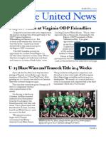 Yankee United F.C. March 2010 Newsletter
