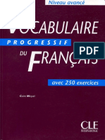 Vocabulaire Progressif Du Francais Avance.pdf Par ( Www.lfaculte.com)