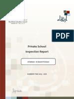 ADEC Al Bateen Secondary Almushrif Private School 2015 2016