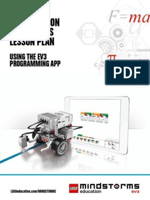 Ev3 Programming Lesson Plan ENUS | Robot | Technology