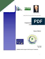 CSR in Europe