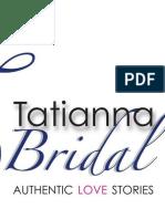 TATIANNA BRIDAL AFFAIR AUDITIONS FORM