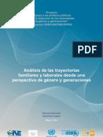 Informe INE Genero y Generaciones Agosto 2009