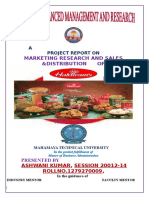 220687869 Marketing Project Report on Haldiram s