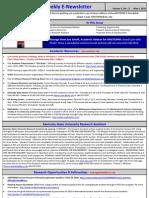 Newsletter 05 04 2010