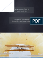 Hands-On HTML 5 Paper