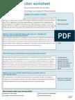 qa practice reflection worksheet sem2