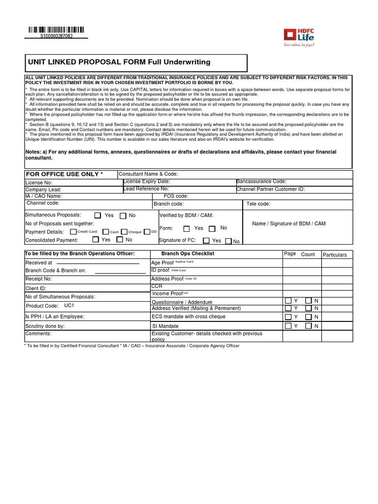 HDFC Life Click 2 Invest - ULIP_Harvinder_S100000287062.pdf ...