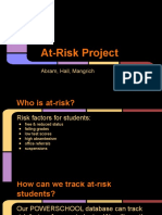 at-risk project standard 9