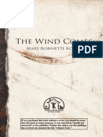 The Wind Comes Mary Robinette Kowal Worldbuilders 2013
