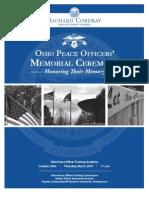 2010 Ohio Peace Officer Memorial Program
