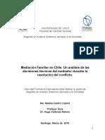 Mediación Familiar en Chile