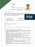 VijayKumar Ambole CV