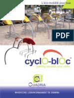 Plaquette Cyclo Bloca