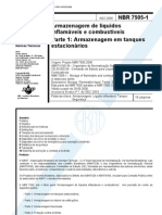 Abnt - Nbr 7505 - gem de Liquidos Inflamaveis E Combustive Is - Parte 1