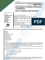 Abnt - Nbr 7505 - gem de Liquidos Inflamaveis E Combustive Is - Parte 4 Protecao Contra In