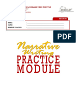 Narrative Writing Practice Module