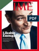 Time Magazine - April 18, 2016