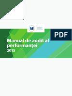 Perf Audit Manual Ro