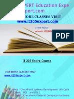 IT 205 EXPERT Education Expert-it205expert.com