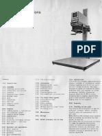 Durst M601 Manual