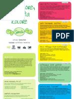 SENDI / Maiatz lore, lore eta kolore!