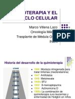 06052014 Quimoterapia y Ciclo Celular