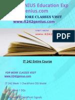 IT 242 GENIUS Education Expert-it242genius.com