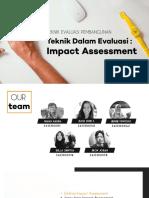 PPT Impact Assessment