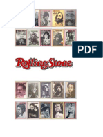 """Análisi de la revista y web """"Rolling Stone"""" edición España"""