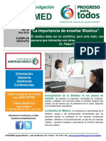 09-2015 La importancia de enseñar Bioética..pdf