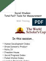 WSC Social Studies