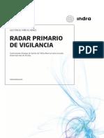 Radar primario de vigilancia aérea.