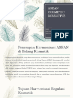 Tugas Kosmetik Asean Directive Cosmetic