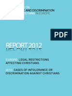 Legal Limitations Affecting Christians - Report by OIDAC